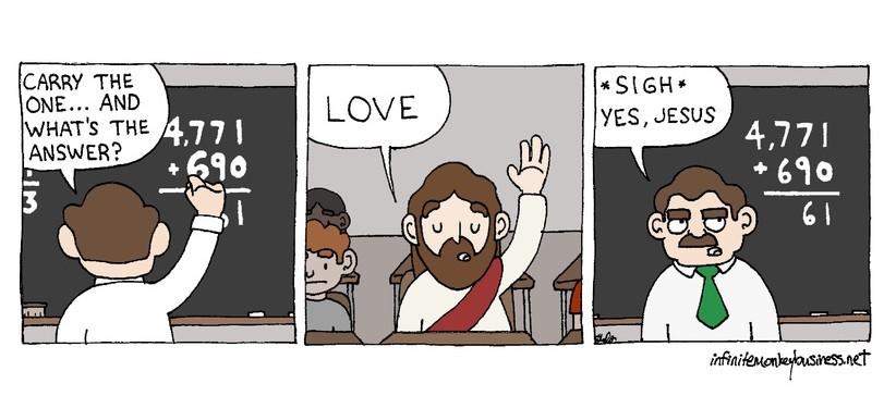 Love is all we need - meme