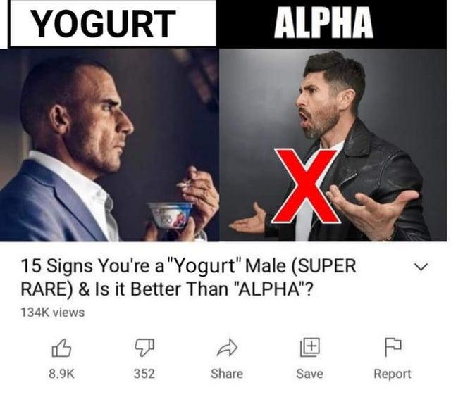 yogurt male is right hand man to sigma - meme