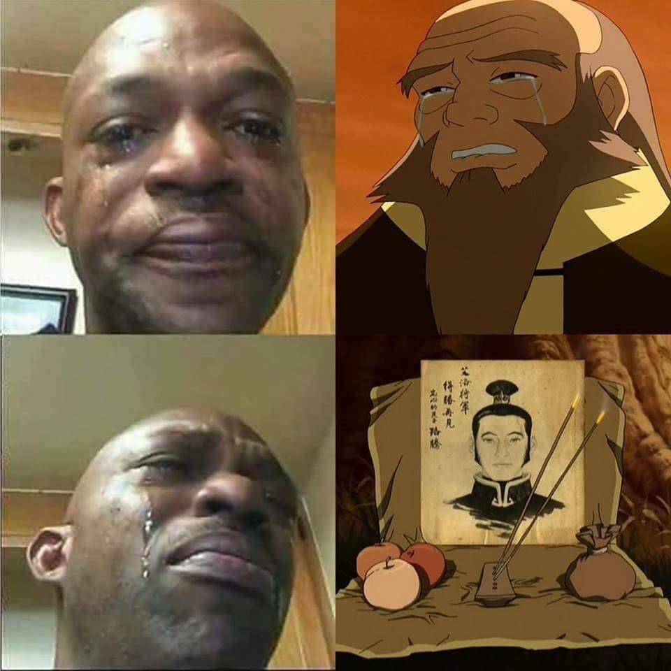 Big boys dont cry - meme