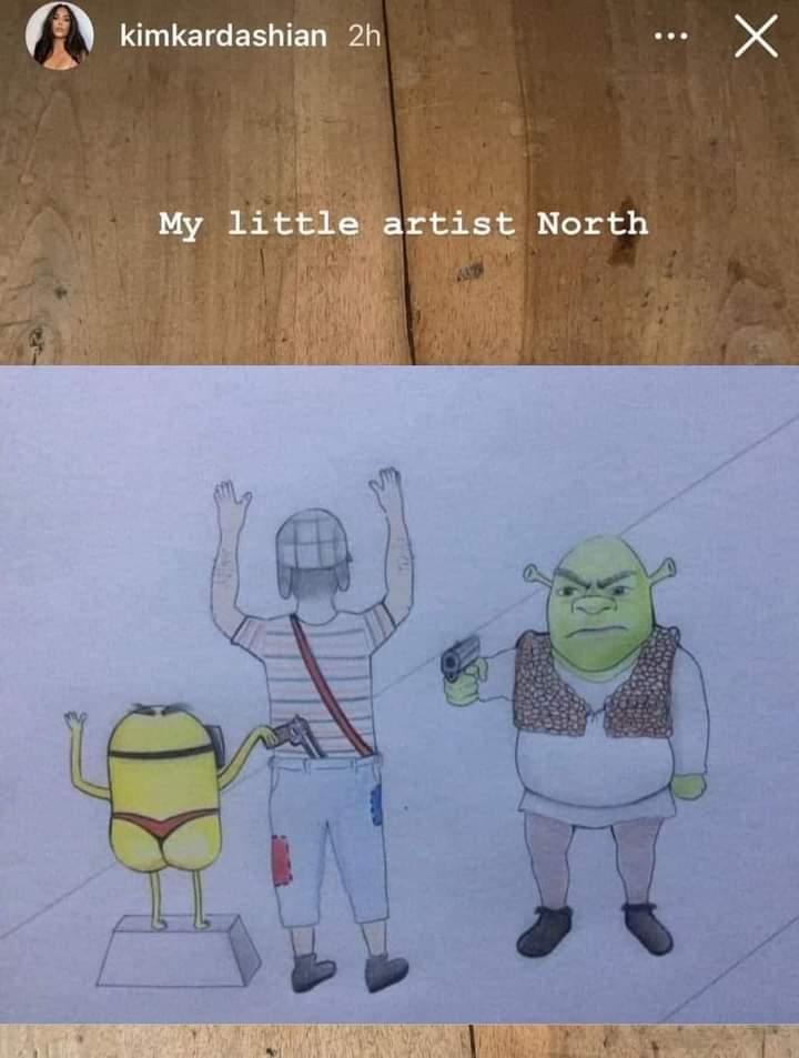 North - meme