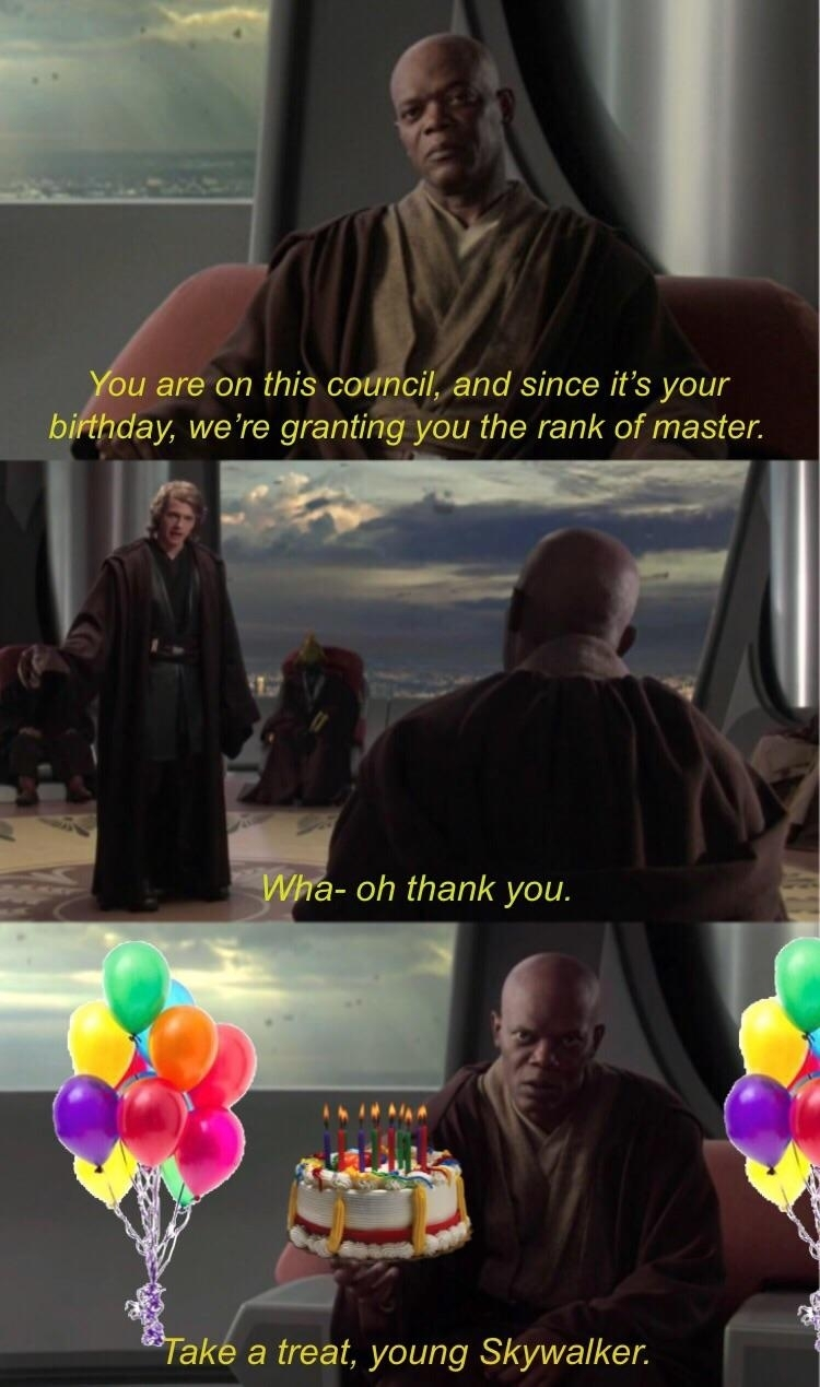 A meme (hayden christensen) becomes a year older