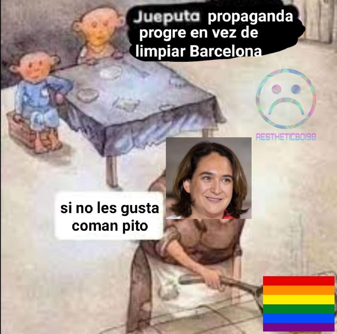 Solo los que viven en Barcelona entenderán - meme