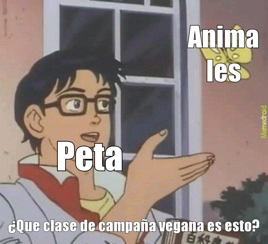Peta es una campaña hipócrita - meme