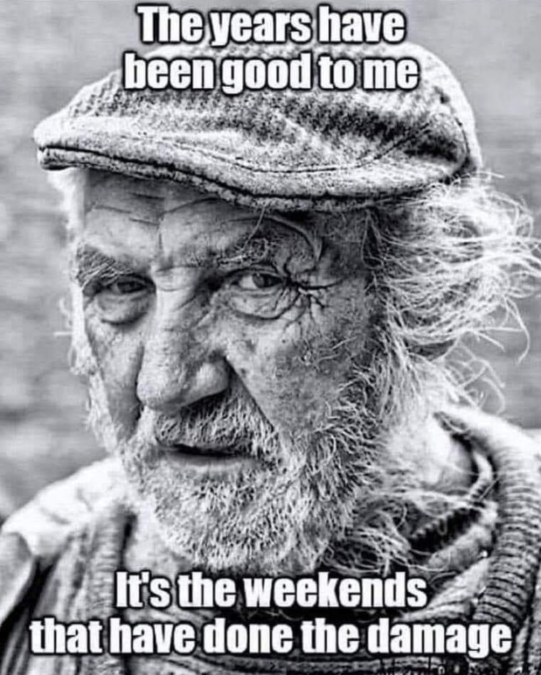 those weekends - meme