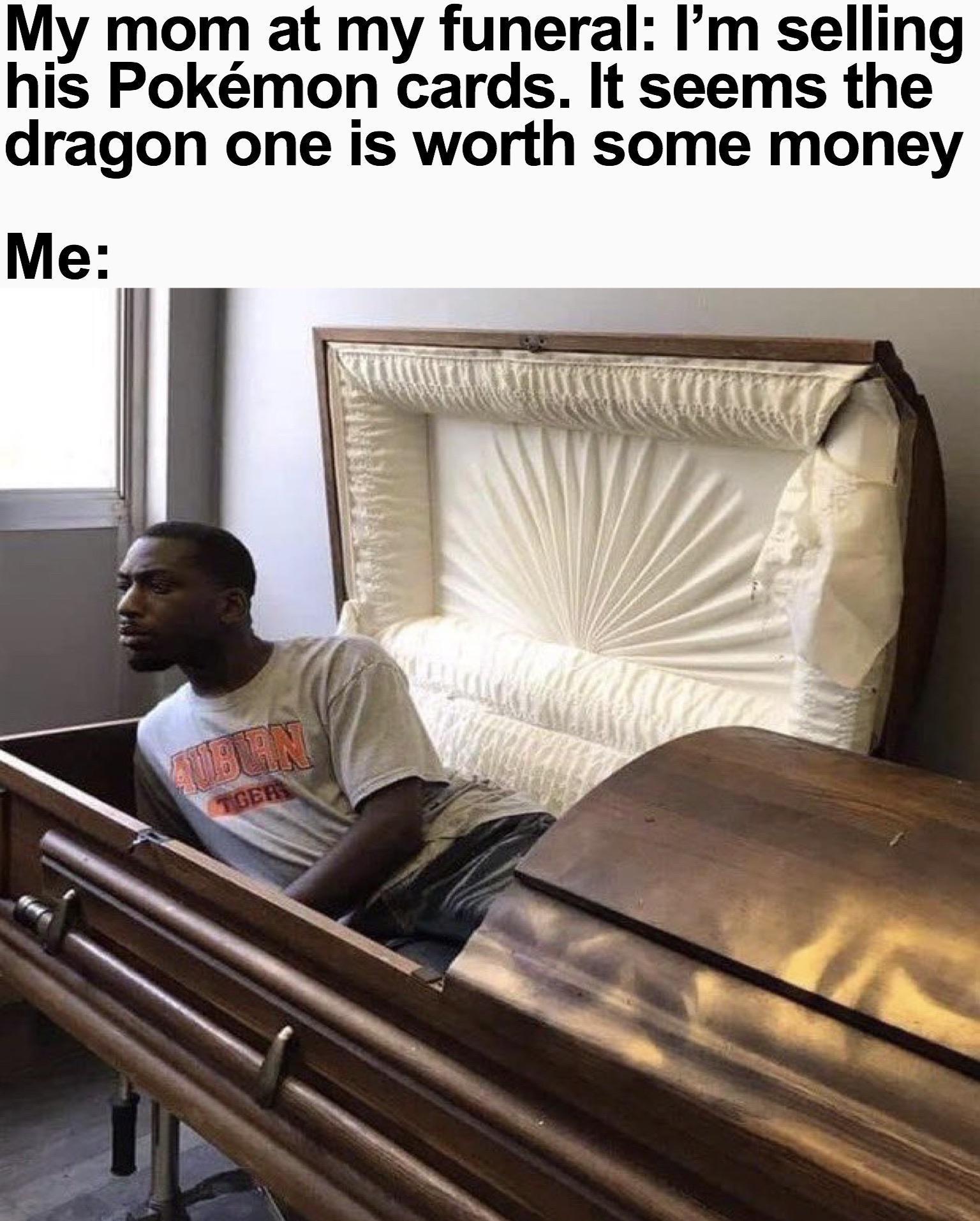 pokemon fan's funeral - meme