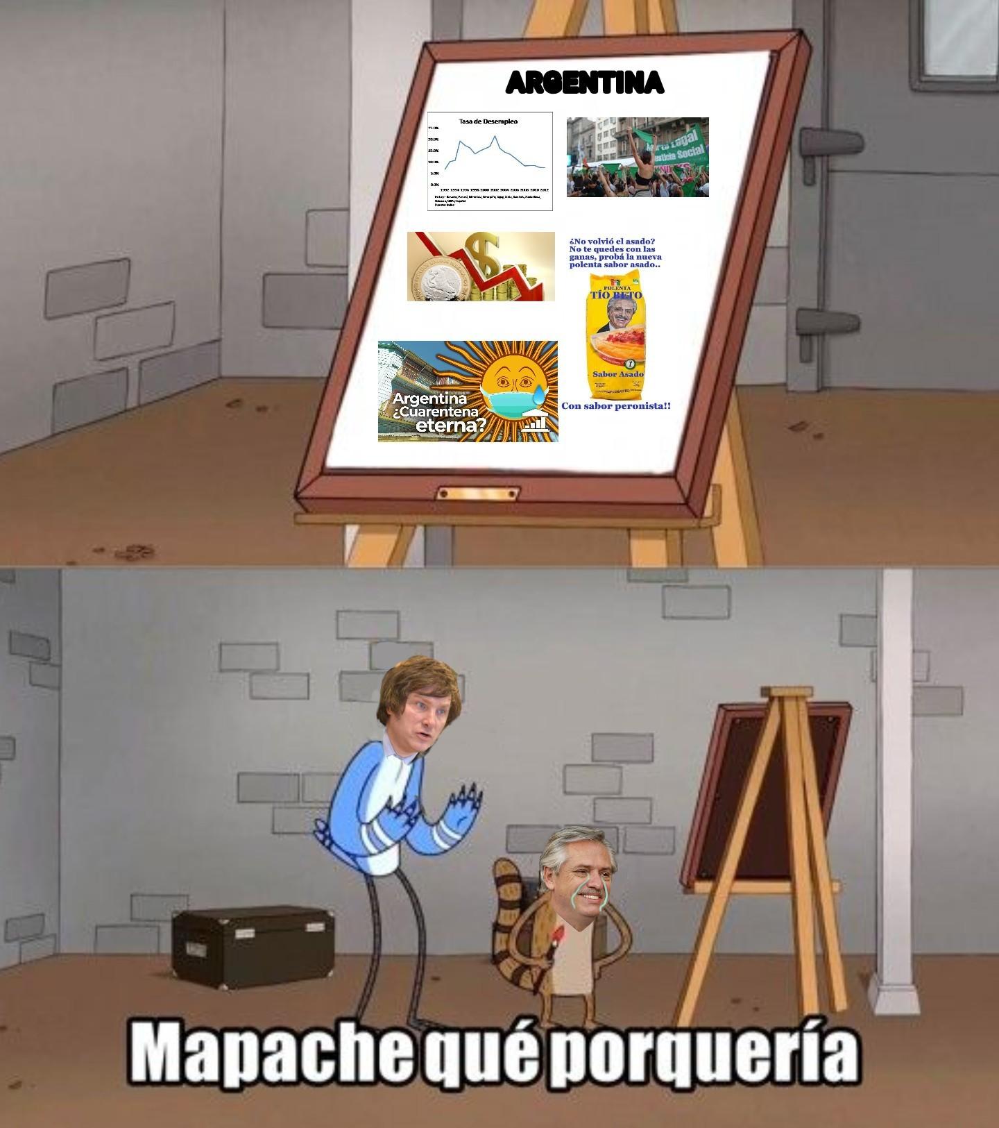 Alberto hdp - meme