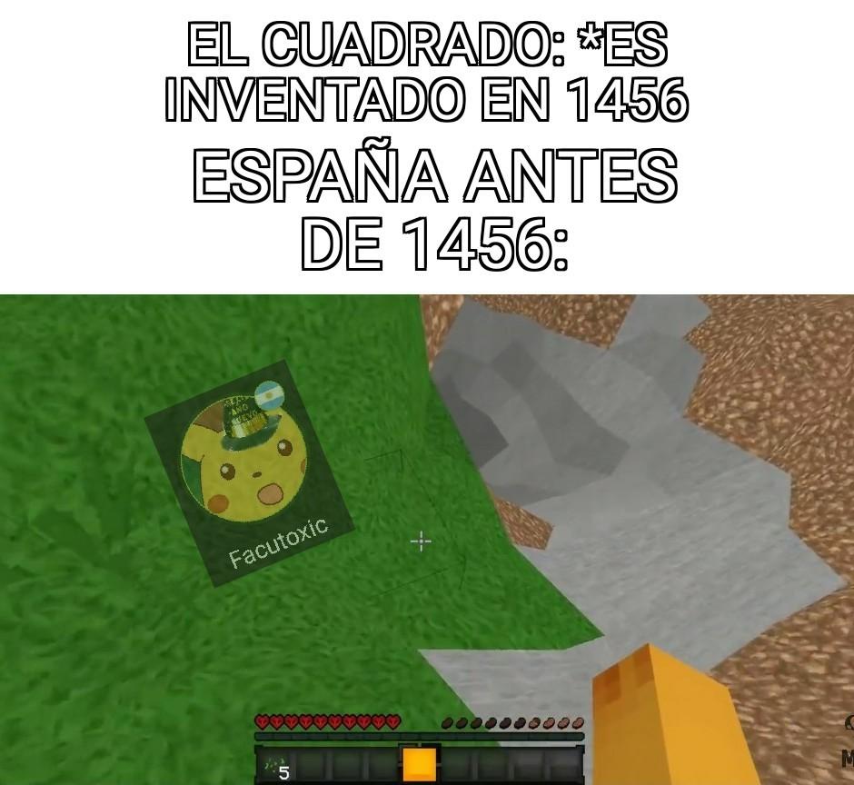 Españoles xd - meme