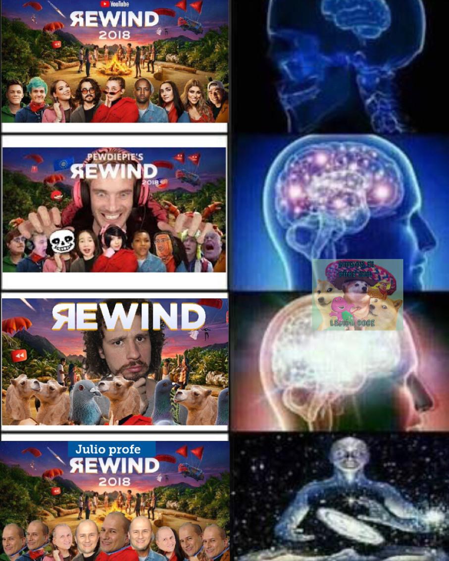 Julio profe rewind - meme