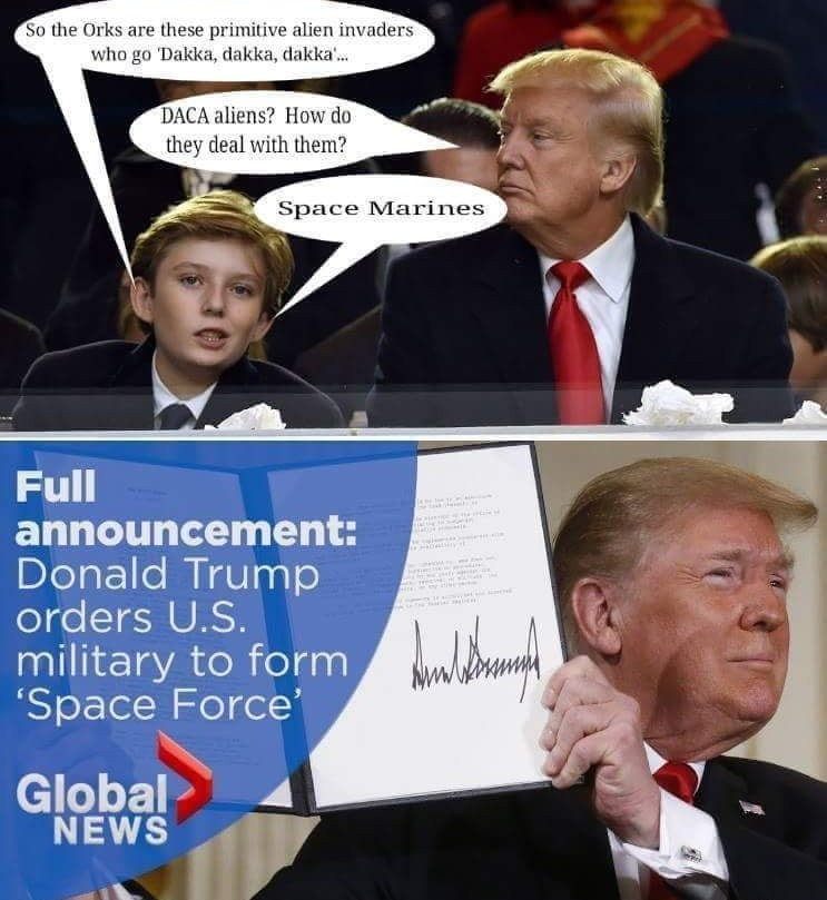 Space force - meme