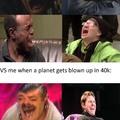 HAHAHA planet goes Boom