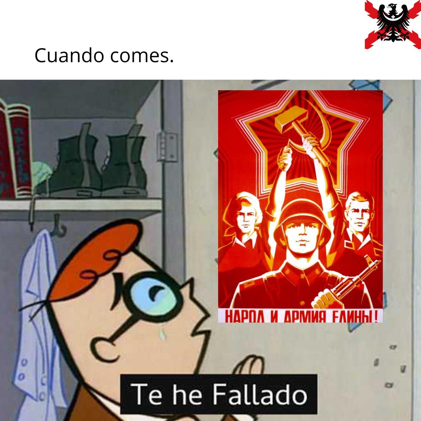 El título murió en el gulag - meme