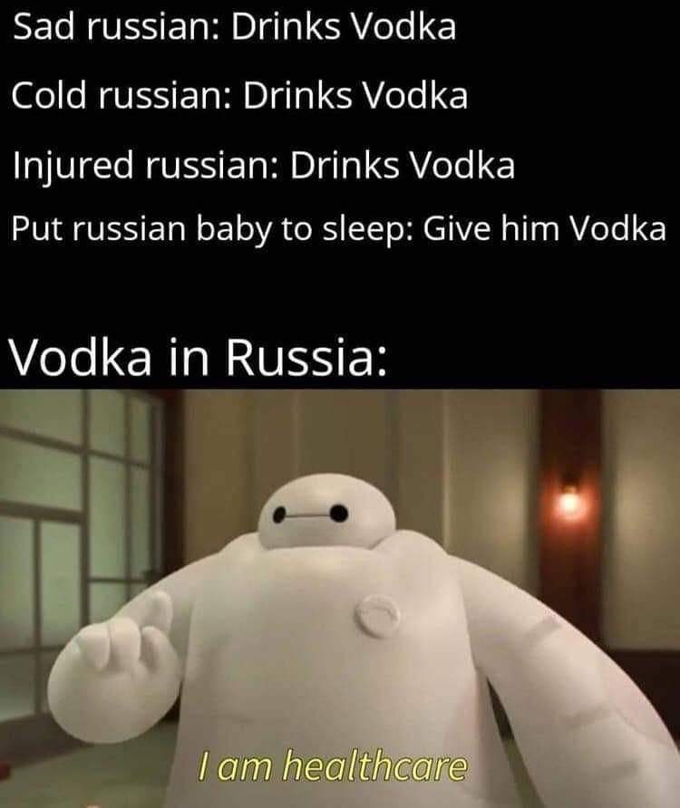 Russian healthcare be like - meme