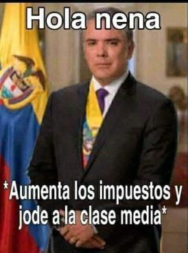 colombiatierraqueridallenadepazyalegria - meme