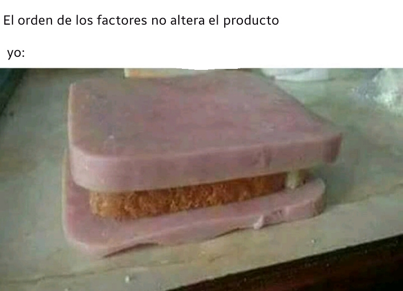 Sanwichito :0 - meme