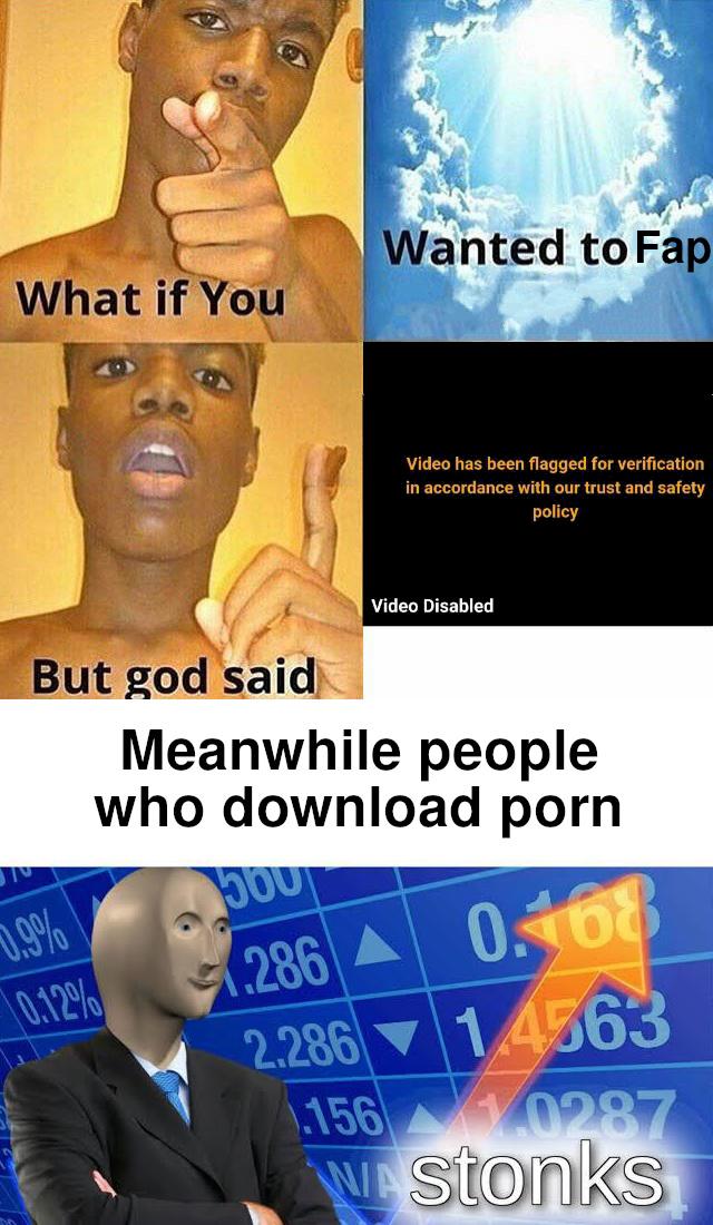 RIP Pornhub - meme